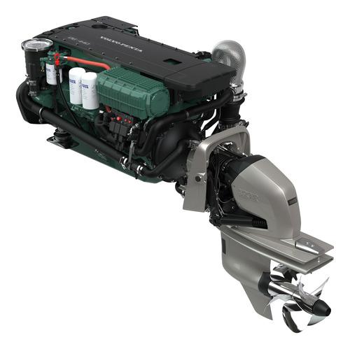 Motor Diesel Lancha Ou Barco Volvo Penta D6 340hp Com Rabeta