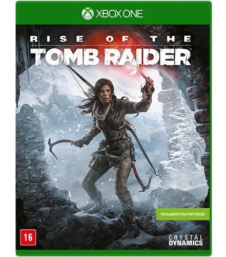 Jogo Rise Of The Tomb Raider - Xbox One - Mídia Física