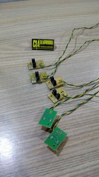 Sensor Papel Hp 1000 2000 2050 3050 1516 3516 - 6 Unidades