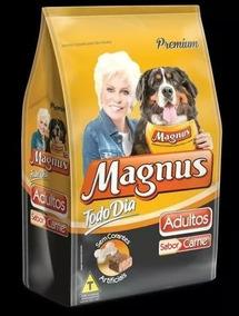 Ração Magnus Todo Dia 20kg Sabor Carne Cães Adultos