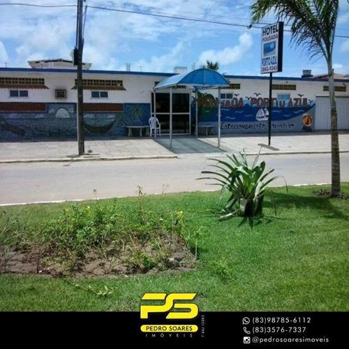 Imagem 1 de 7 de Hotel Com 12 Dormitórios À Venda, 385 M² Por R$ 2.800.000,00 - Portal Do Sol - João Pessoa/pb - Ho0001