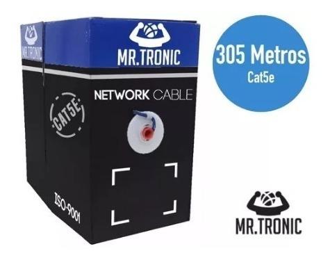 Bobina De Cable Utp Cat 5e 305 Metros