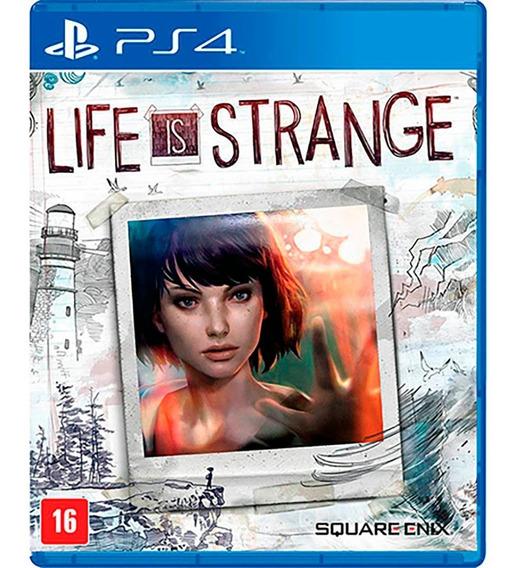 Life Is Strange Ps4 Mídia Física Novo Lacrado