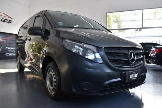Mercedes-benz Vito 1.6 111 Cdi Furgon Mixto Aa 114cv - 2016