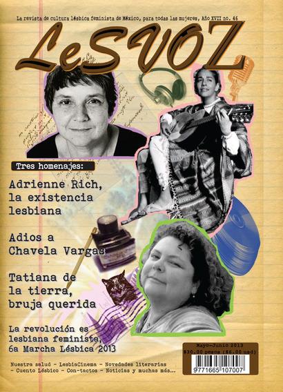Revista Lesvoz #46, 2013, Cultura Lésbica Feminista