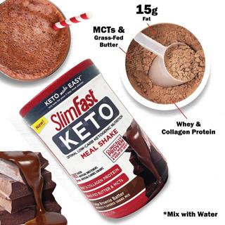 Slimfast Malteada En Polvo Fudge Brownie 379gr