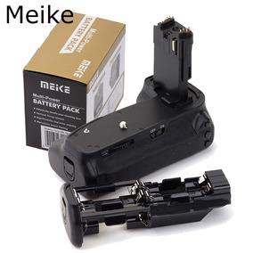 Grip Meike Canon 6d Mk-6d Funciona Com 2 Bateria Ou 6 Pilhas