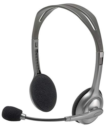 Headset P2 Com Microfone H110 Logitech