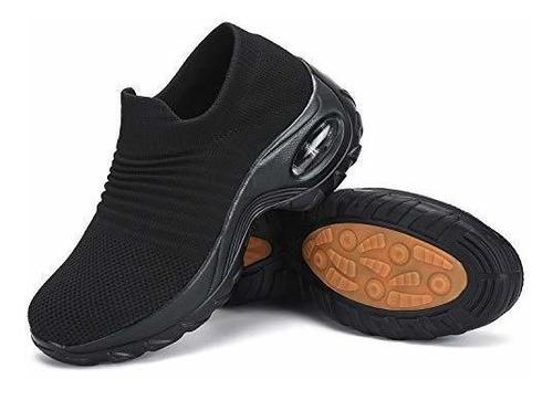 Zapatos Para Caminar Para Mujer Zapatillas De Deporte Con Ca
