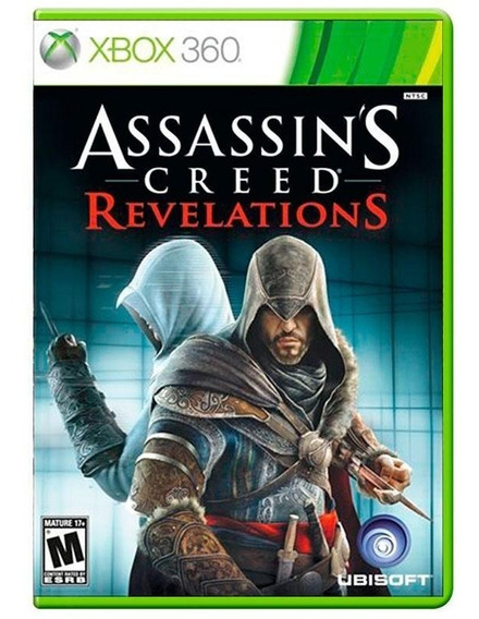 Assassins Creed Revelations Xbox 360 Xbox One Mídia Física