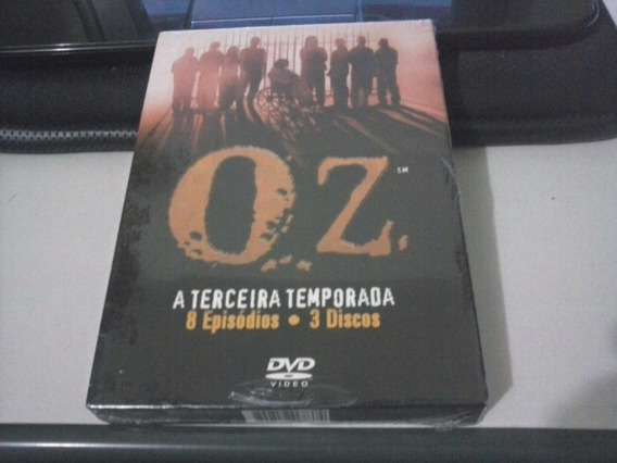 Oz - Terceira Temporada - Lacrado