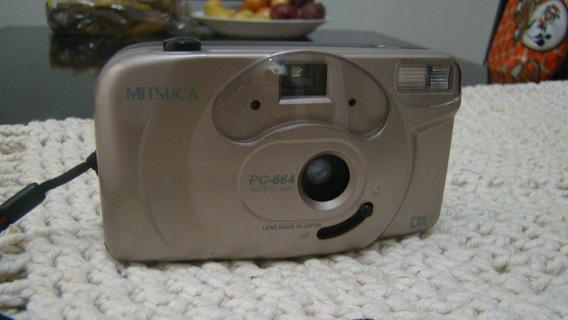 Câmera Fotográfia Mitsuca Pc664 Analógica