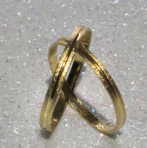Aliança Casamento Ouro 18k