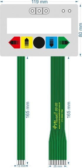 Teclado Para Alinhador Space Hofmann - 2 Flat - Cód 874