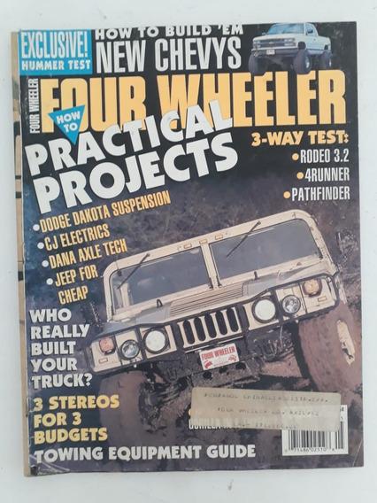 Revista Four Wheeler 1993 Várias Propaganda Antiga Coleção
