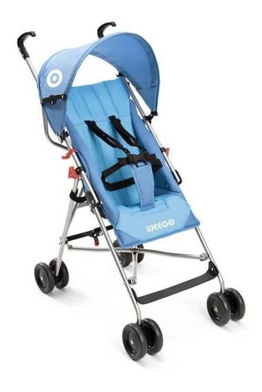Carrinho Bebê Guarda-chuva Weego Way Azul Bb507