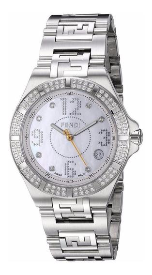 Reloj Fendi High Speed Acero Inox Plata Mujer F467340ddc