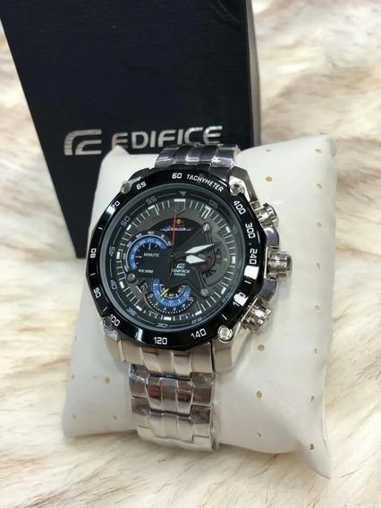 Relógio Frf8569 Casio Edifice Red Bull Prata Preto Com Caixa