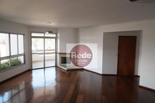 Imagem 1 de 19 de Apartamento À Venda, 178 M² Por R$ 750.000,00 - Vila Betânia - São José Dos Campos/sp - Ap4087