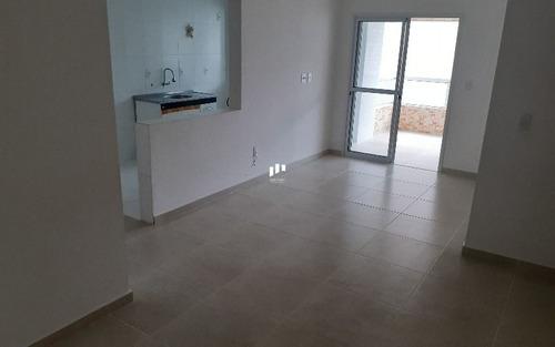 Apartamento De 3 Dormitórios Com Suíte E 2 Vagas De Garagem Em Praia Grande Sp.