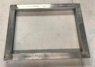 Marco De Aluminio Para Serigrafía 17 X 12.5