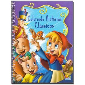 Livro - Colorindo Historias Classicas