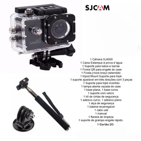 Câmera Sj4000 Wifi + Bastão