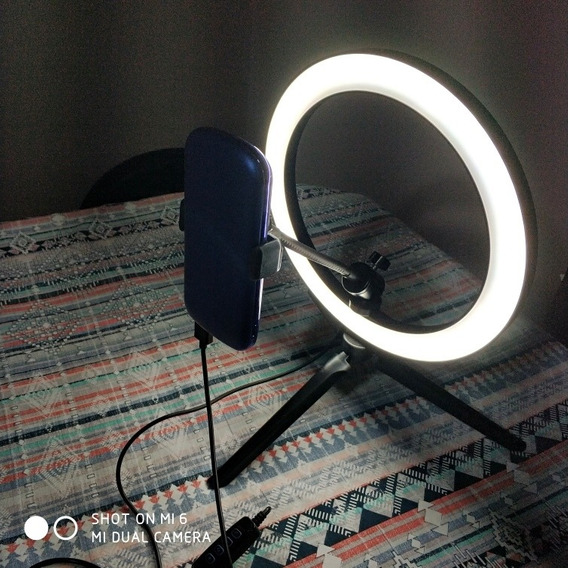 Ring Light 26 Cm Com Acessórios