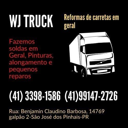 Imagem 1 de 5 de Fazemos Serviços E Reformas De Carretas Em Geral.