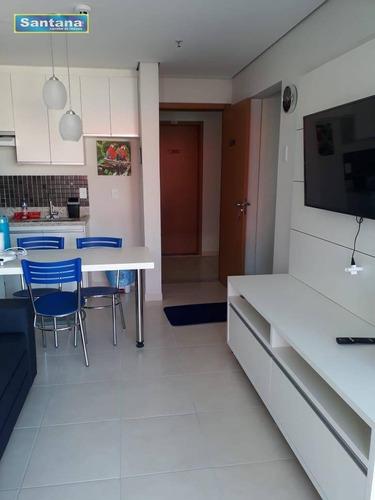 Apartamento Com 1 Dormitório À Venda, 42 M² Por R$ 200.000,00 - Termal - Caldas Novas/go - Ap0774