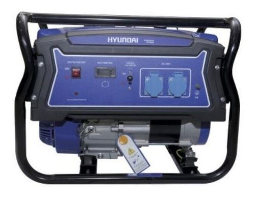 Planta Electrica 4000 Hyundai Hydg4050 65% Ahorro Gasolina