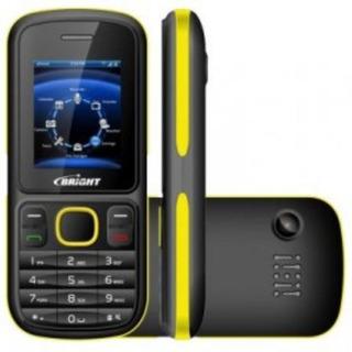 Celular Barra Amarela Dual Chip Bright One ..promoção !!!!
