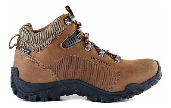 Bota Cuero Mujer Briganti Zapato Confort Borcego - Mcbo24926