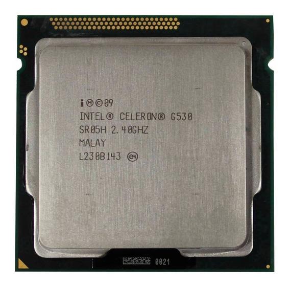 Celeron G530 Socket 1155 2,4 Ghz Dual Com Cooler (11735)