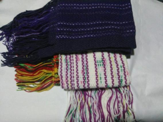 Bufandas De Lana Varios Colores