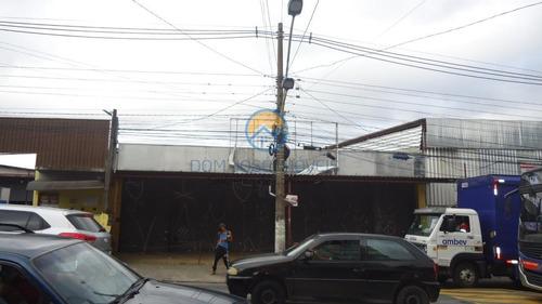 Galpão Para Locação Em Taboão Da Serra, Jardim Clementino, 4 Banheiros - Gl065_2-1037229