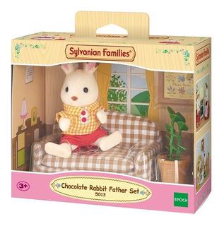Sylvanian Families Rabbit Father Set 5013 Intek Villa Devoto