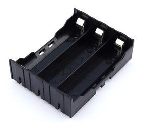 Case Box Caixa Suporte 3 Baterias 18650