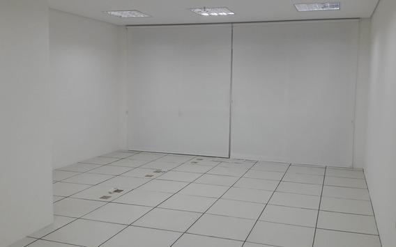 Sala Comercial Para Locação No Botafogo Em Campinas, Prédio Novo, 40m2, Acabamento Básico, Ar Condicionado E Persianas. 1 Vaga De Garagem. - Sa00047 - 33451905
