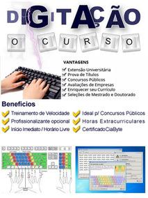 *cursos De Digitação+soft+completo