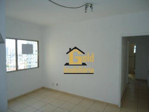 Apartamento Com 2 Dormitórios À Venda, 53 M² Por R$ 150.000,00 - Jardim Palma Travassos - Ribeirão Preto/sp - Ap1707