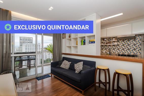 Apartamento No 20º Andar Com 2 Dormitórios E 2 Garagens - Id: 892972817 - 272817