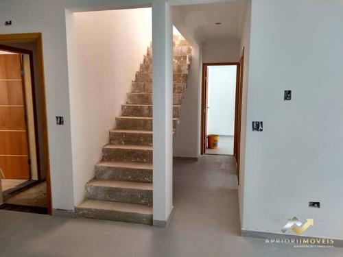 Cobertura Com 2 Dormitórios À Venda, 88 M² Por R$ 345.000 - Vila Eldízia - Santo André/sp - Co0882