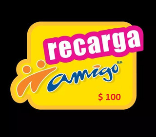 Recarga Electronica A Celular Telcel, Att, Movistar, 100