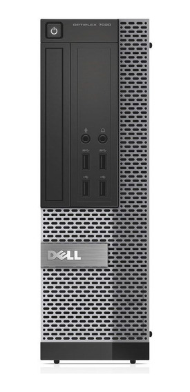 Cpu Dell Optiplex Sff 7020 Core I5 4ªg 4gb Ssd 120gb Wifi