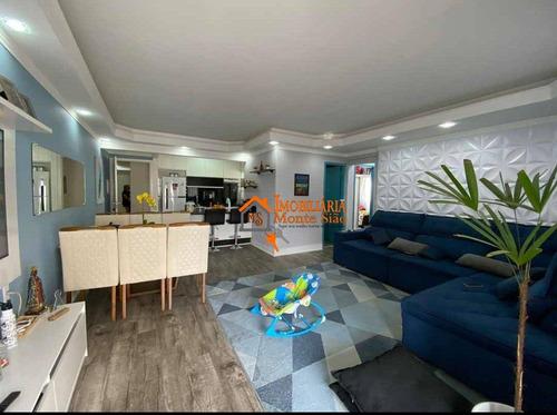 Apartamento Com 2 Dormitórios À Venda, 76 M² Por R$ 435.000,00 - Vila Rosália - Guarulhos/sp - Ap2403