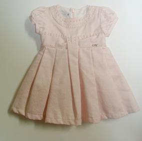 Vestido Rosa Com Perolas - (1815)