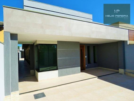Casa Em Itaipuaçu, 3 Quartos, 1 Suíte, Churrasqueira, Próxima A Praia - Ca0446