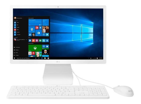 Desktop All In One Lg Intel Celeron 500gb - 22v280-l.bj41p1