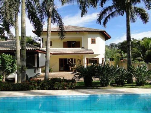 Casa Com 4 Dormitórios À Venda, 507 M² Por R$ 2.500.000,00 - Condomínio Vista Alegre - Sede - Vinhedo/sp - Ca0611